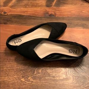 Black flats size 8 1/2